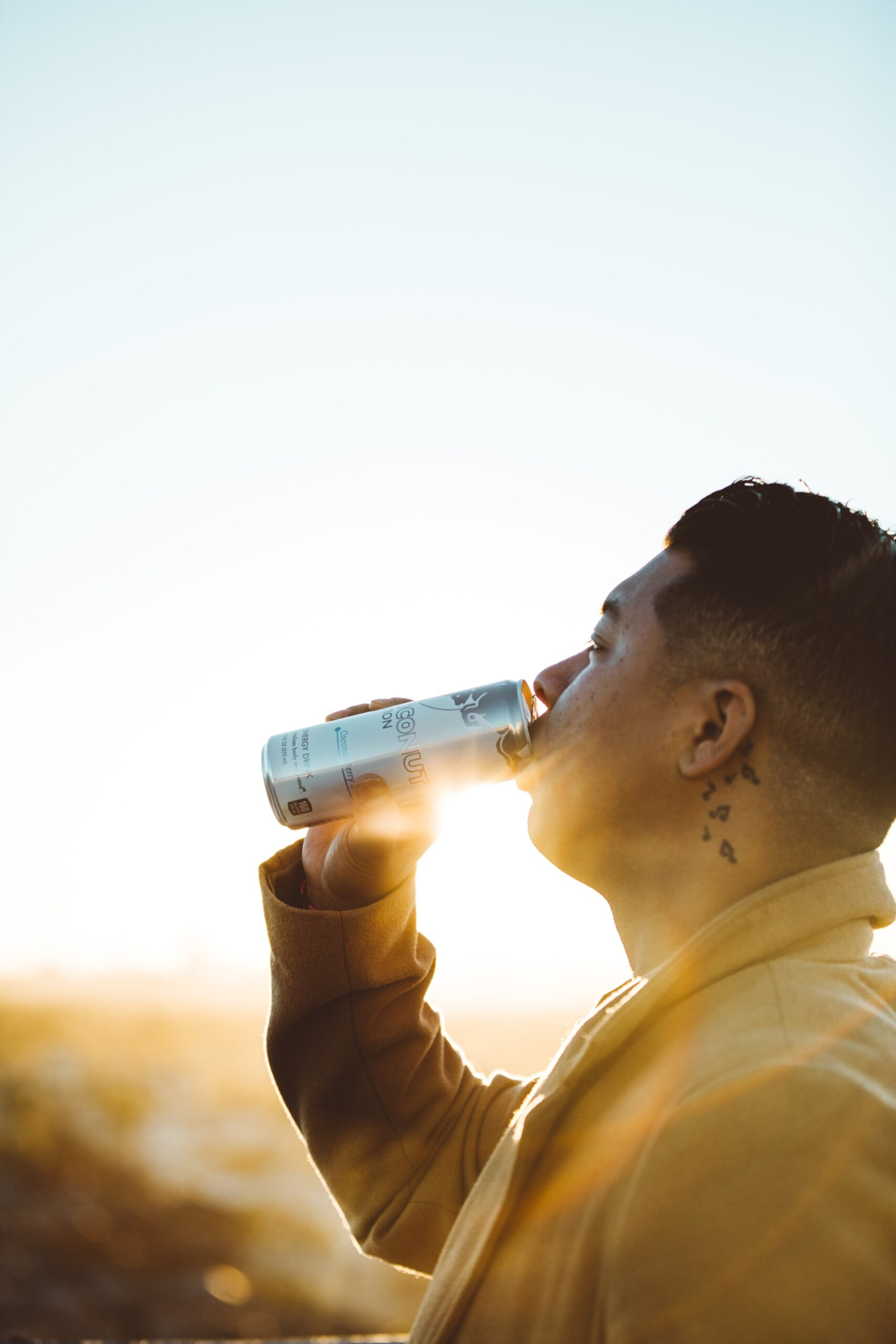 Energy drinks linked to stress and anxiety in young adult males